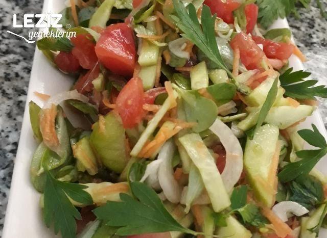 Semizotlu Renkli Salata