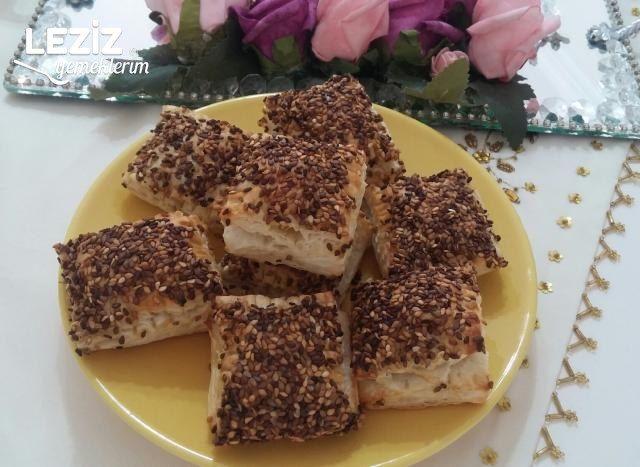 Çıtır Milföy Börek (Simit Tadında)