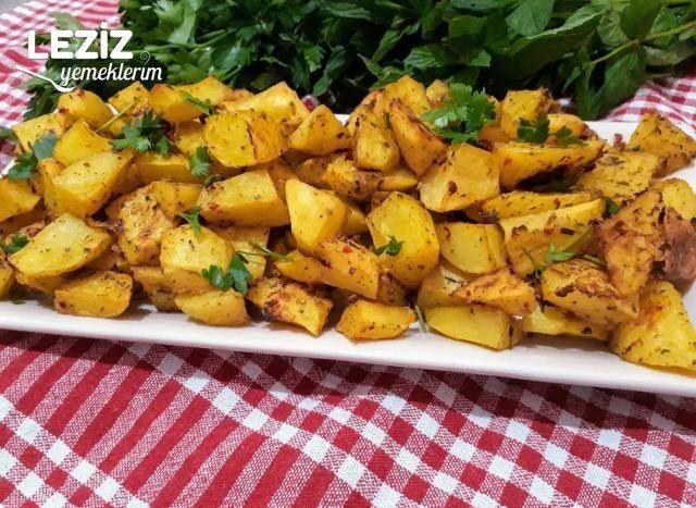 Yoğurtlu Soslu Lezzet Küpü Patatesler