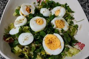 Kahvaltıya Sahura Pratik Yumurta Salatası