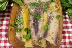 Kolay Haşlama Patlıcan Biber Turşusu
