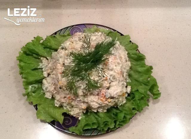 Rus Mutfağından Salata Paytaxt Salatası (Stoliçni)