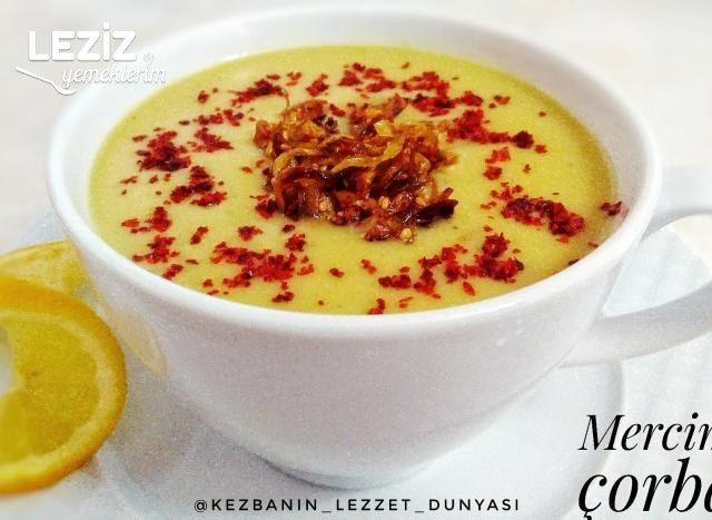 Karamelize Soğanlı Mercimek Çorbası