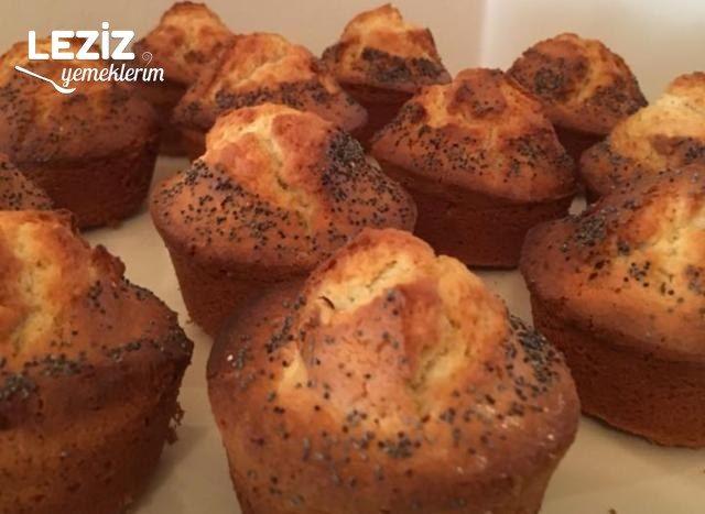 Muffin Kalıbında Tahinli Kek