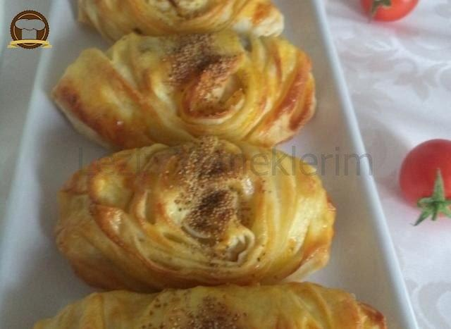 Patatesli Midye Börek
