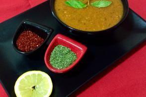 Kırmızı Mercimekli Ispanaklı Sebze Çorbası