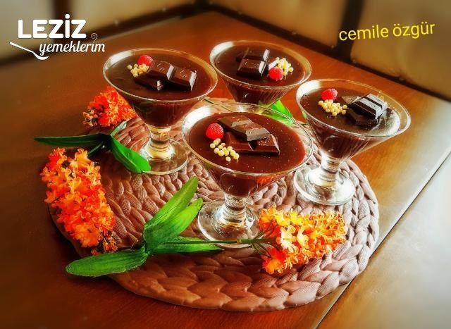 Ev Yapımı Çikolatalı Puding Nasıl Yapılır?