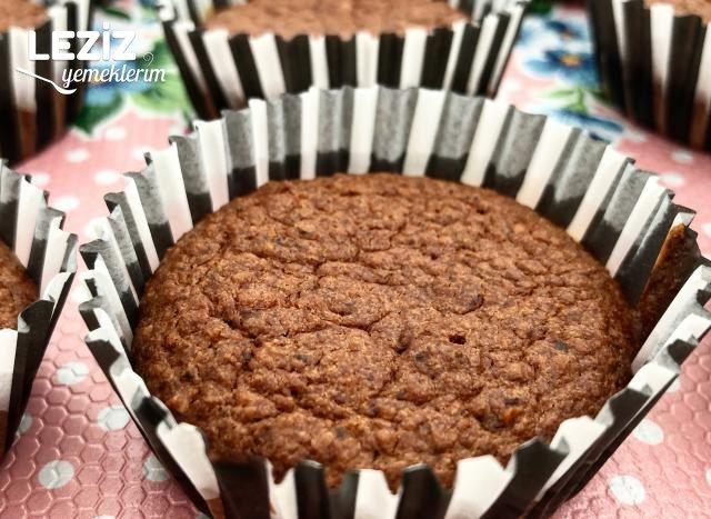 Muzlu Yulaflı Muffin