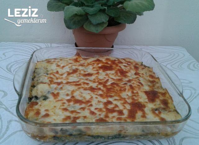 Fırında Ispanak Yemeği