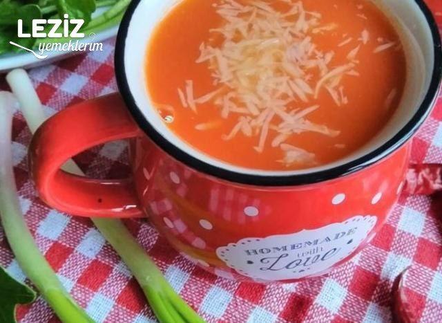 Sütlü Domates Çorbası Yapımı (Püf Noktaları İle)