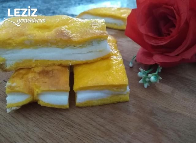 Pasta Görünümlü Omlet (Çocuklar Bayılacak)