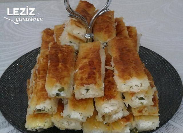 Baklavalık Yufkadan Peynirli Çıtır Börek Tarifi