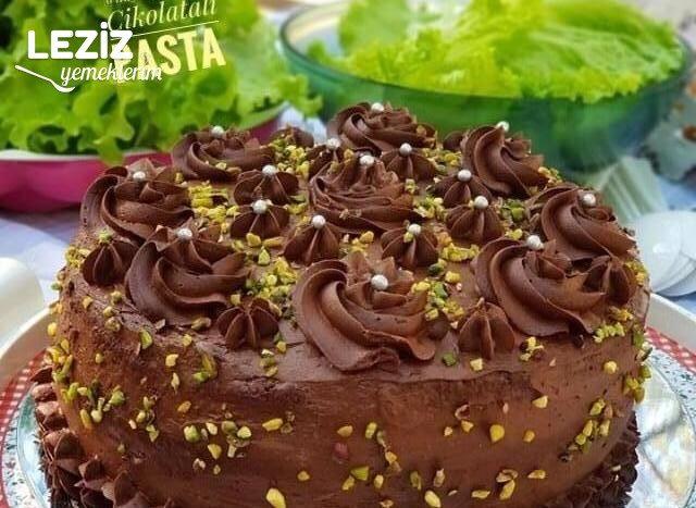 Enfes Çikolatalı Pasta