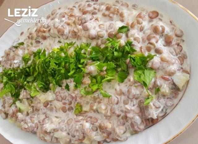 Salatalıklı Mercimek Salatası