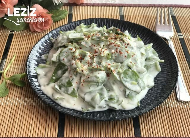 Nefis Yoğurtlu Semizotu Salatası