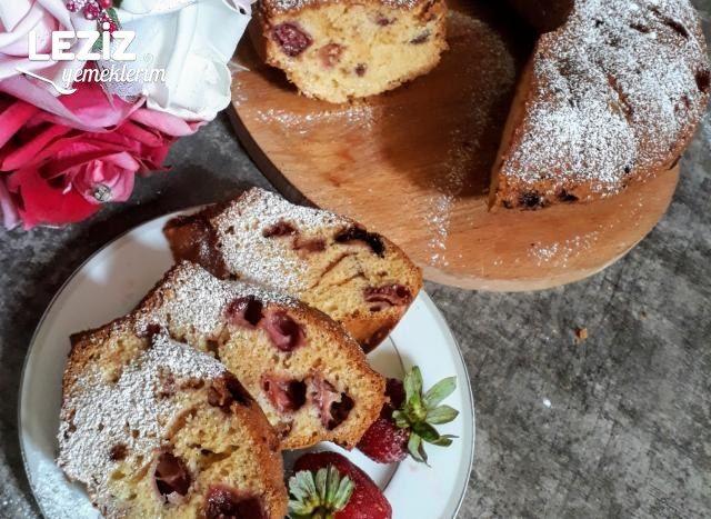 Çilekli Kek Yapımı