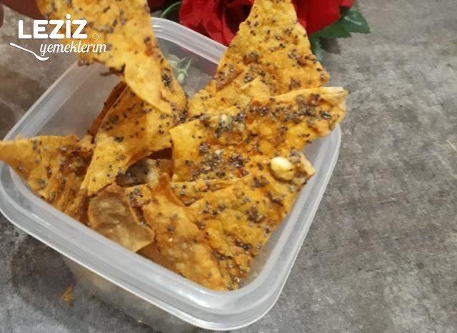 Haşhaşlı Peynirli Cips Tarifi