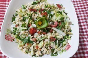 Buğday (Keşkek) Salatası