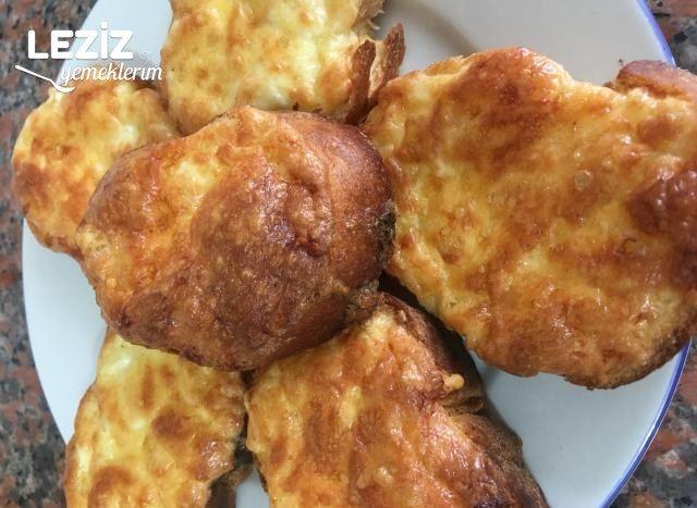 Peynirli Bayat Ekmek Dilimleri