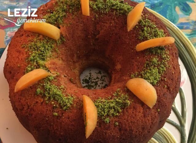 Taze Kayısılı Kek