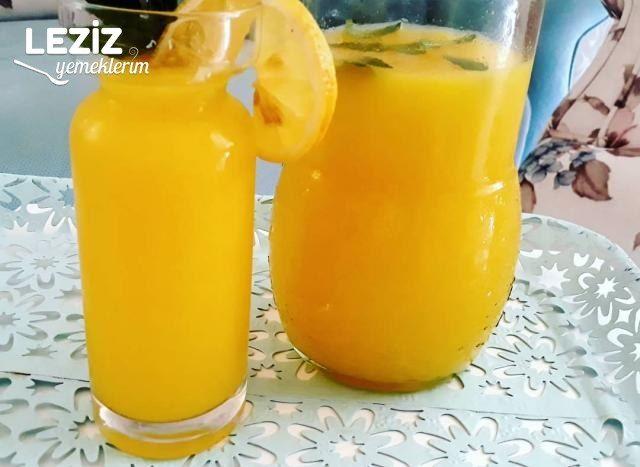 3 Portakal 2 Limon İle Ev Yapımı Limonata