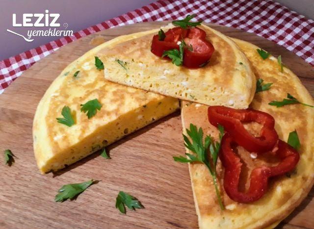 Kahvaltıya Börek Tadında Omlet