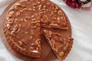 Yer Fıstıklı Karamelli Pasta
