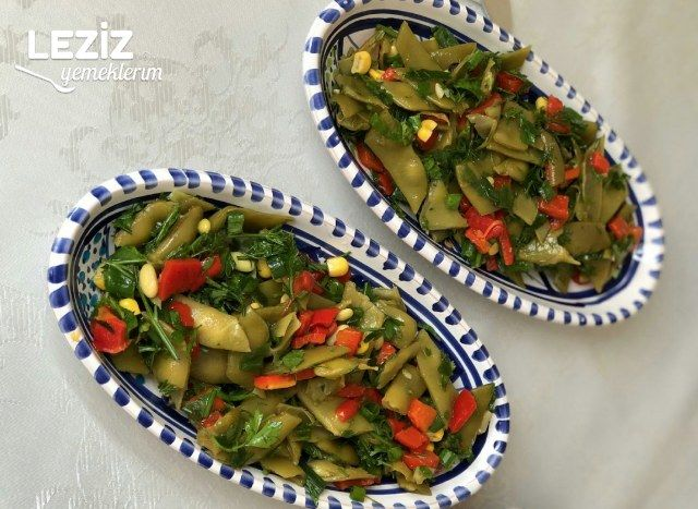 Taze Fasulye Salatası Nasıl Yapılır?