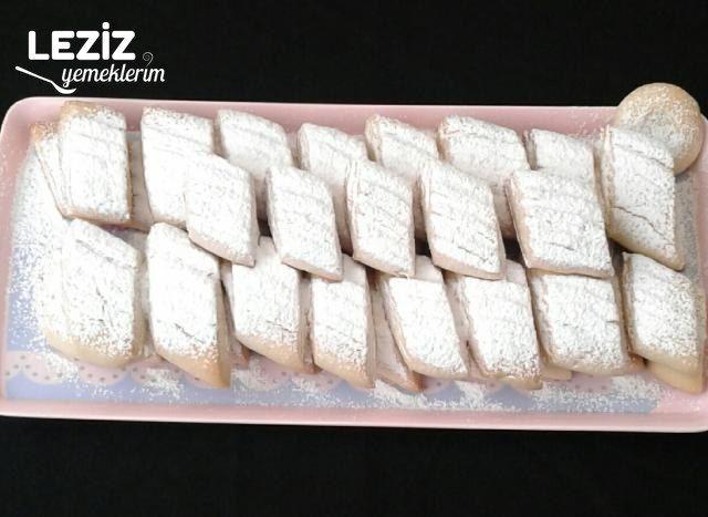 Un Kurabiyesi Tarifi (Pastane Usulu)