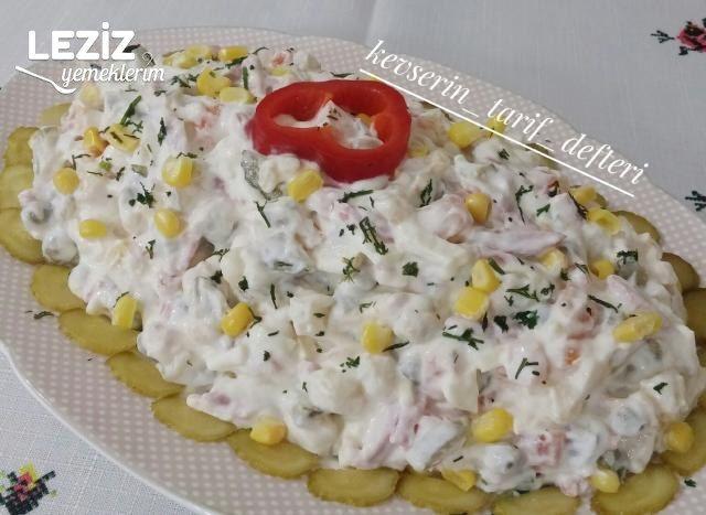 Nefis İtalyan Salatası