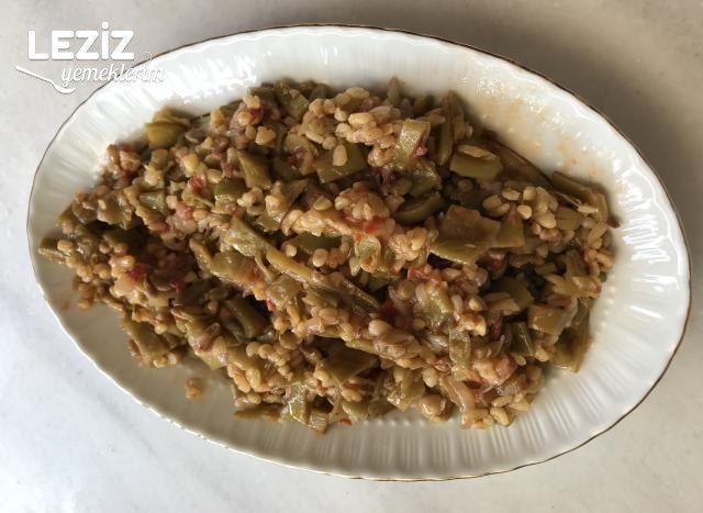 Zeytinyağlı Fasülye Salatası