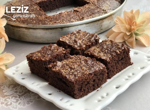 Kakaolu Susamlı Kek