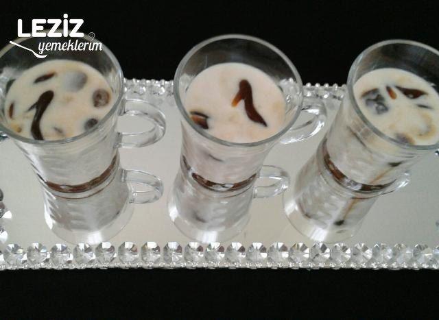 Buzlu Türk Kahvesi Ve Kurabiye