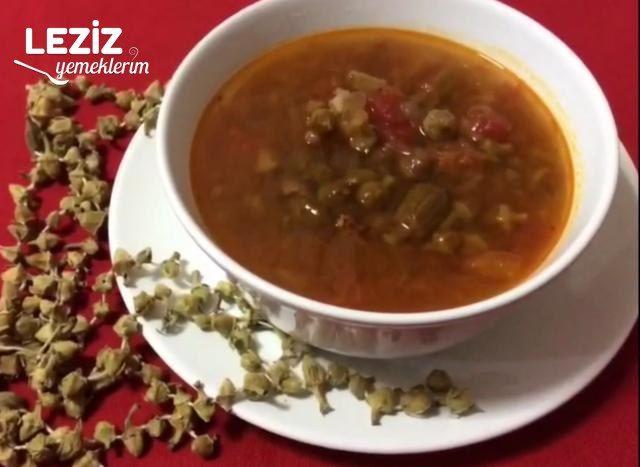 Kuru Bamya Çorbası Nasıl Yapılır?