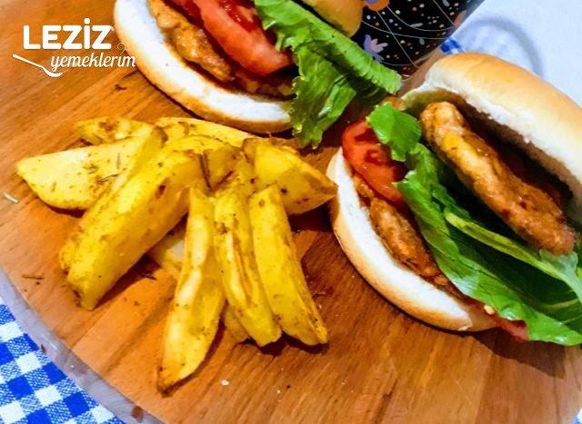 Evde Tavukburger Menü Nasıl Hazırlanır