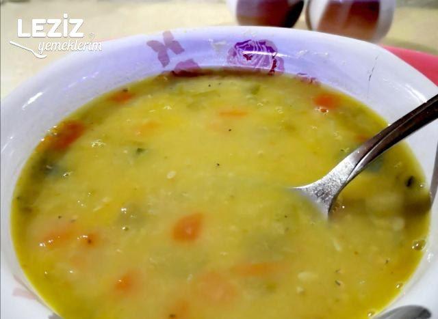 Sebzeli Mercimek Çorbası Yapılışı