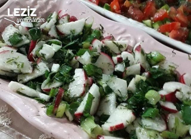Çok Kolay Turp Salatası