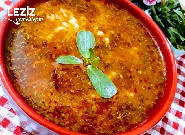 Salçalı Pirinç Çorbası Tarifi