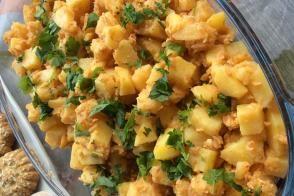 Yumurtalı Patates Kavurması
