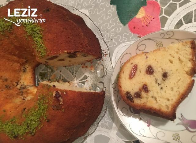 Limon Aromalı Üzümlü Kek Nasıl Yapılır?
