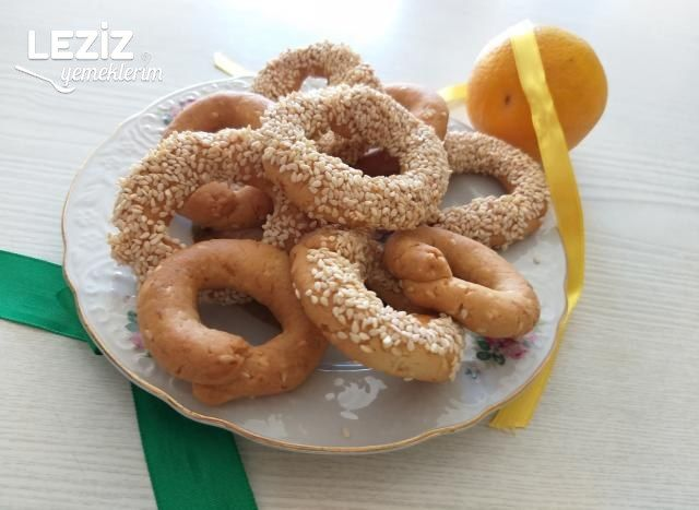 Portakallı Simit