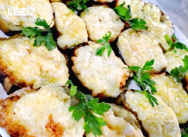 Kaşarlı Puf Patlıcan Kızartması