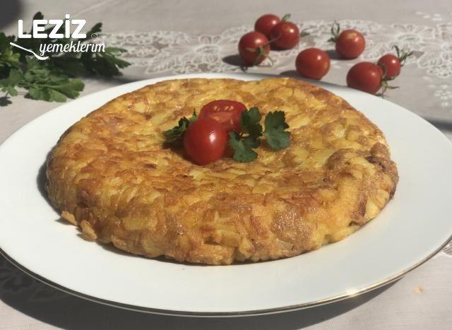 Kahvaltılık Yumurtalı Patates Yapımı