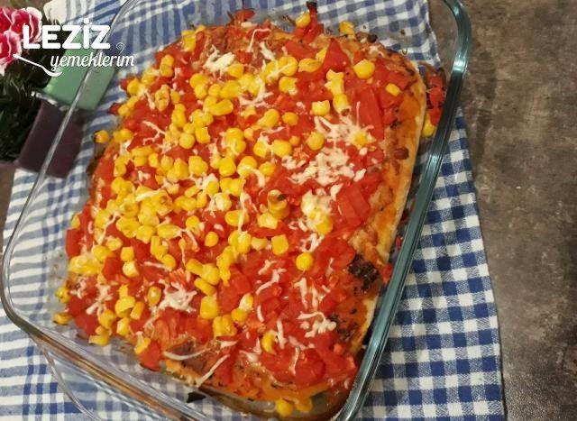 Vejeteryan Pizza Nasıl Yapılır?