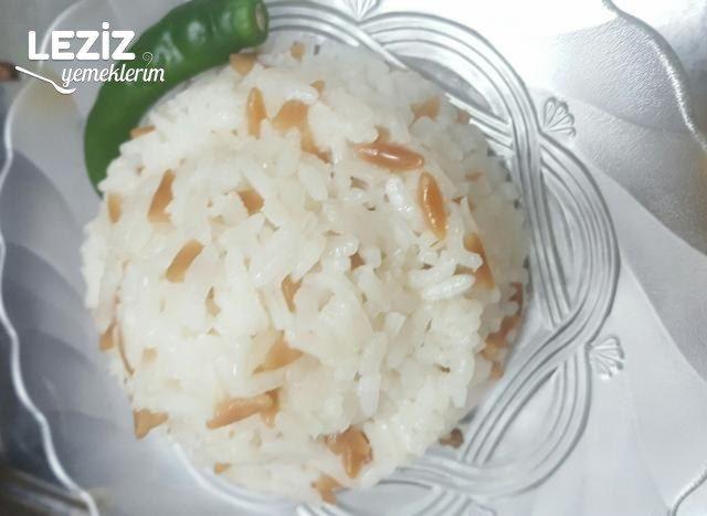 Tane Tane Pirinçleriyle 5 Dakikada Pratik Pirinç Pilavı