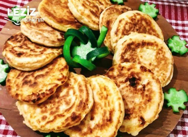Kahvaltılık Peynirli Pankek Tarifi