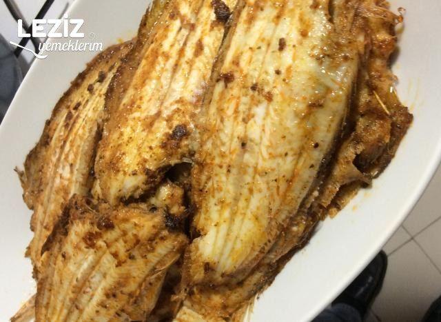 Sarımsaklı Baharatlı Dil Balığı