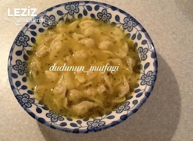 Azerbaycan Mutfağından Düşbere Yemeği (Azerbeycan Mantısı) Tarifi