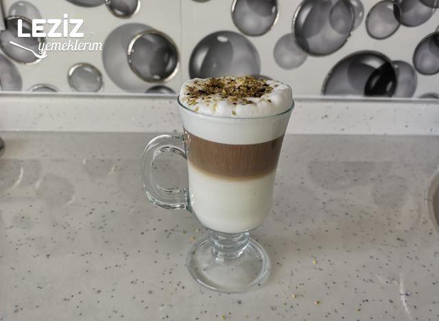 French Press İle Süt Köpürtme Ve 3 Katmanlı Bol Köpüklü Kahve