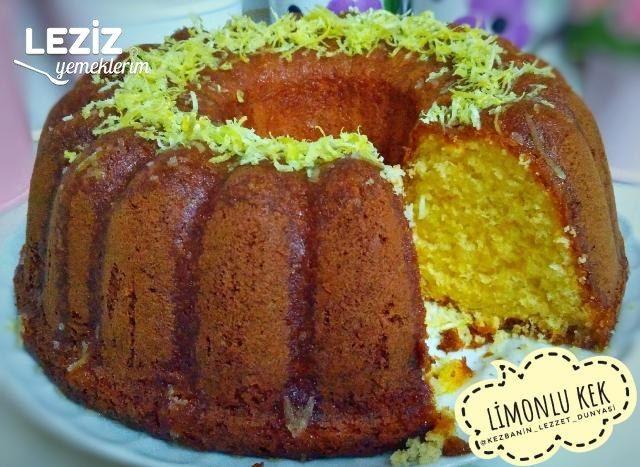Limonlu Kek Nasıl Yapılmalı?